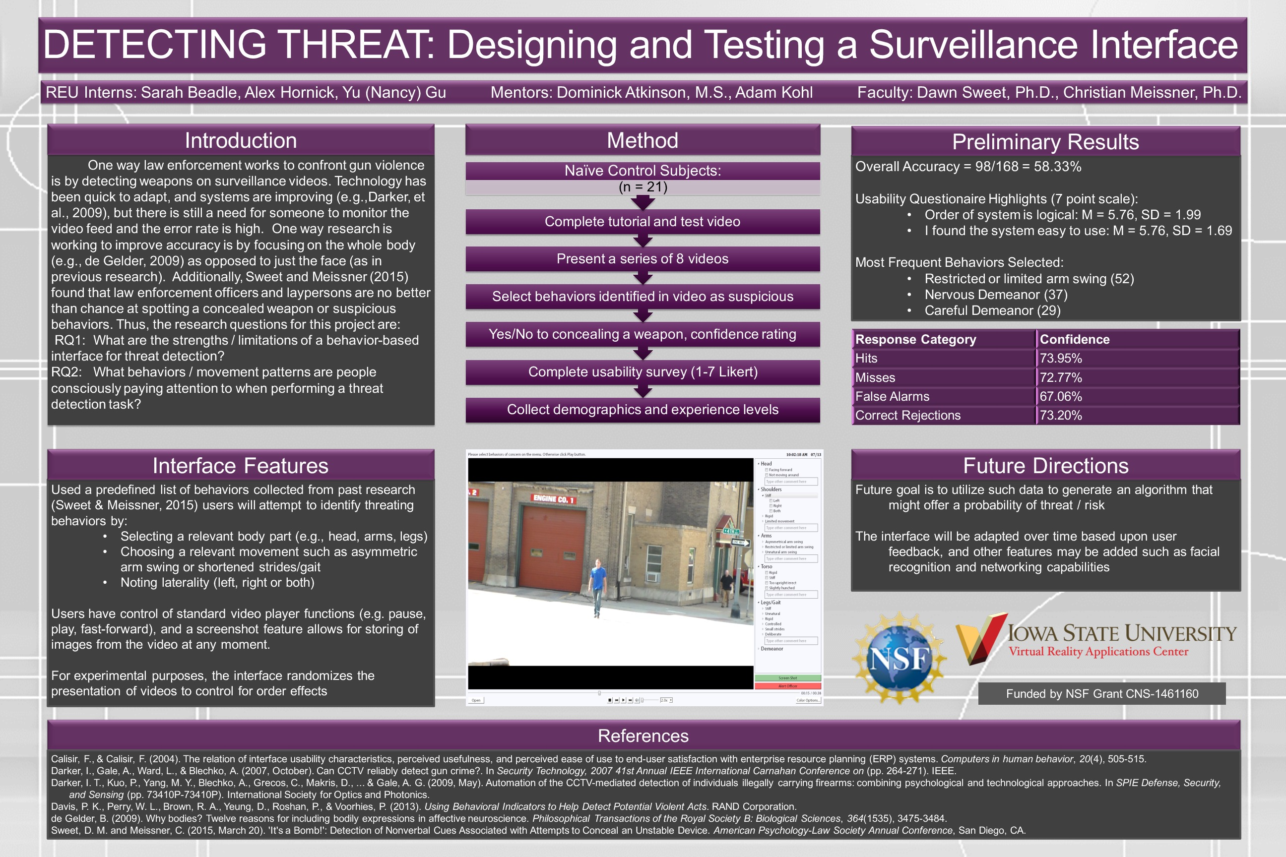 Detecting Threat poster